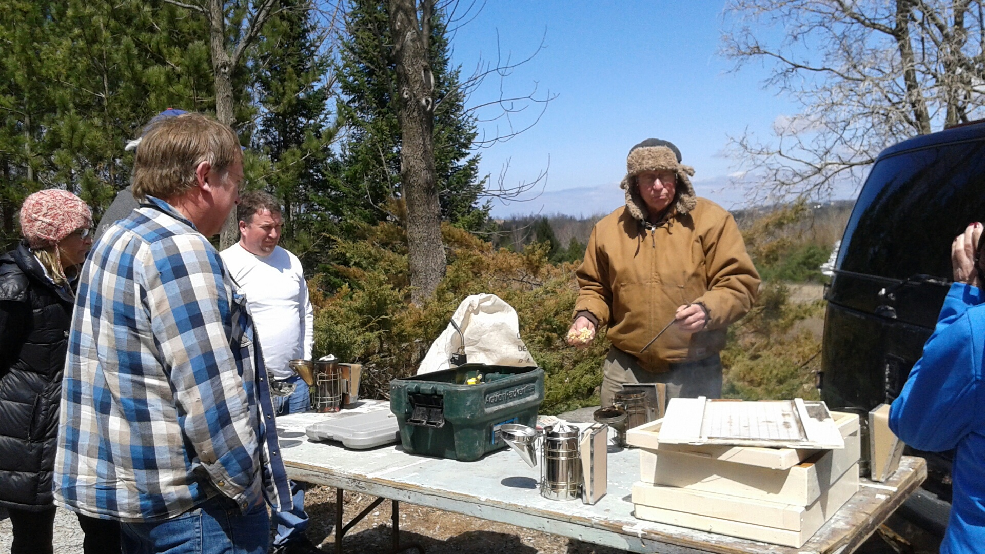 FAW Beekeeping Mentorship