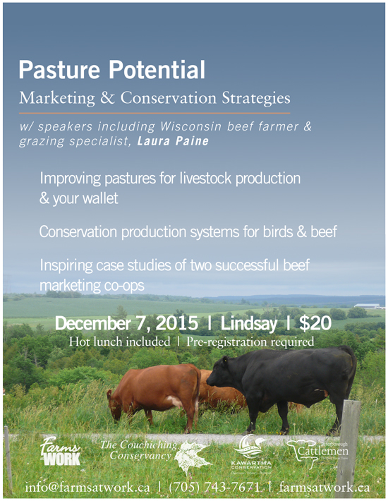Pasture Potential: Marketing & Conservation Strategies